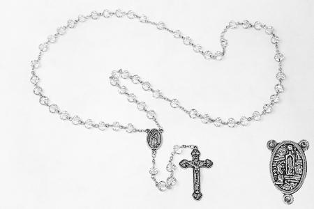 Bernadette Crystal Rosary.