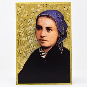 Bernadette Mosaic Wall Plaque..