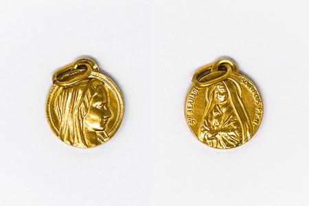 Saint Bernadette Soubirous Medal