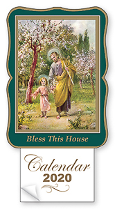 St.Joseph Bless this House 2020 Calendar.