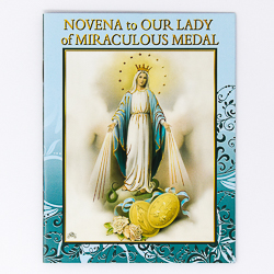 Novena Booklet to Our Lady of the Miraculous Medal.