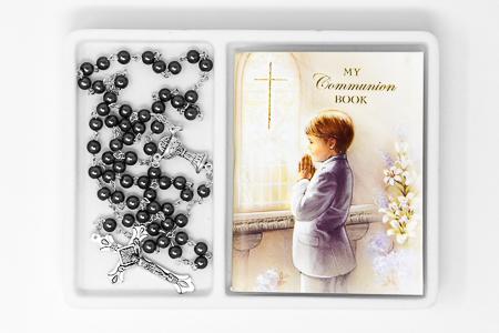 Boy's Communion Rosary & Prayer Book.