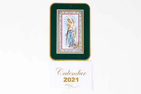 2021 Calendar - Our Lady of Lourdes.