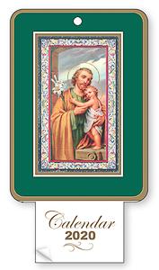 2020 Calendar Saint Joseph.