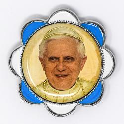Car Plaque - Pope Benedict 16th.