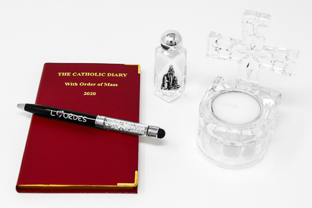 Catholic Diary Gift Set.