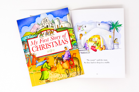 Christmas Book for Children.