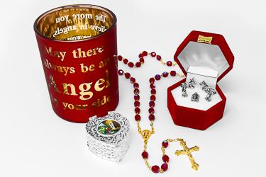 Christmas Candle Gift Set.
