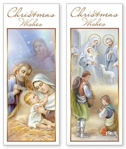 Christmas Card with Angels.
