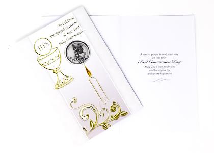 Communion Card.
