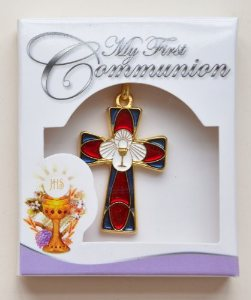 First Communion Crucifix Necklace