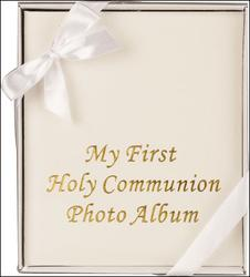 My First Holy Communion Photo Album.
