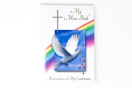 Confirmation Dove Prayer Book.