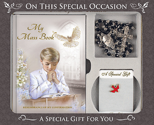 Confirmation Gift Set for a Boy.