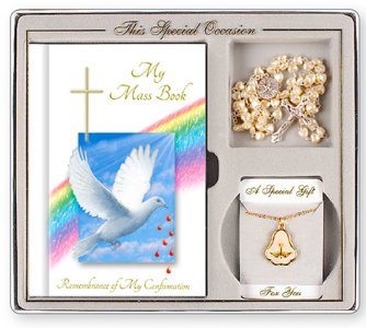 Confirmation Gift Set with Dove Book