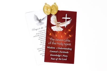 Confirmation Medal Prayer Card.