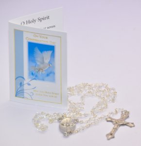 Confirmation Rosary Beads.