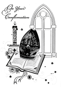 Symbolic Confirmation Card.
