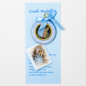 Blue Cradle Medallion