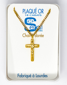 Crucifix Necklace.
