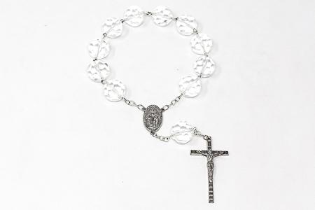 Giant Crystal Miraculous Handheld Rosary.