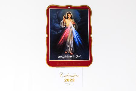Divine Mercy Bless this House 2022 Calendar.