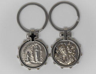 St.Christopher Rosary Key Ring.