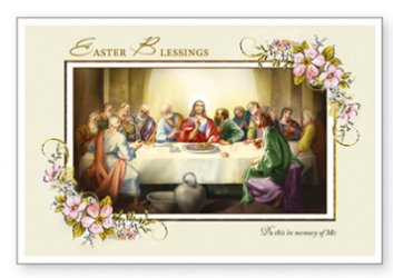Easter Blessing Card.
