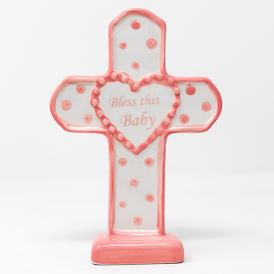 This Baby Cross For a Girl.