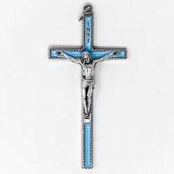 Blue Crucifix.