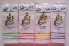 Lourdes Apparition Tea Towel.