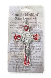 Red St.Benedict Crucifix.