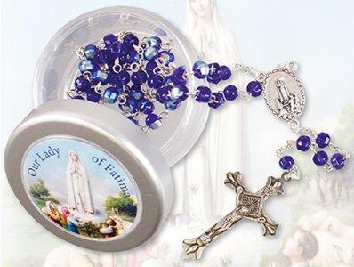 Fatima Rosary & Rosary Box