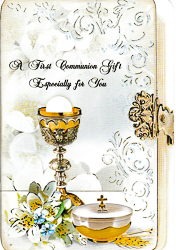 Communion Money Gift Card.