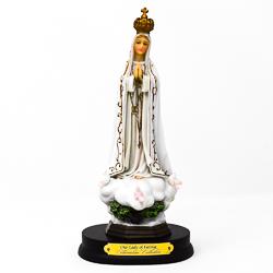 Fatima statue.