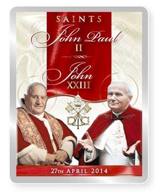 Pope Fridge Magnet.