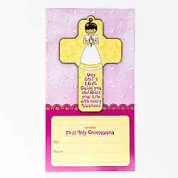 First Holy Communion Cross.