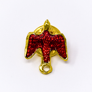 Red Dove Pin.