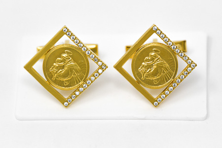 St Anthony Cuff Link's