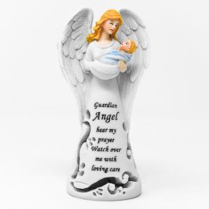 Guardian Angel Statue.