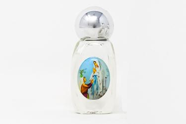 Lourdes Glass Holy Water Bottle.