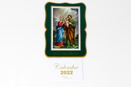 Holy Family 2022 Calendar.