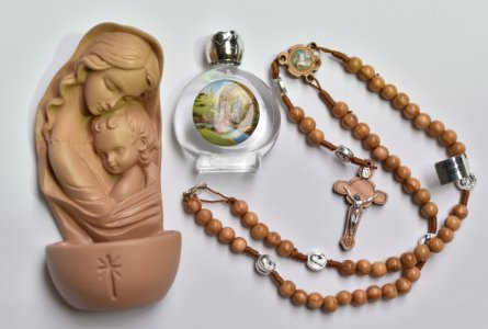 Holy Family Holy Water Font Gift Set.