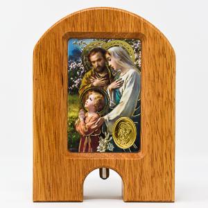 Holy Family Holy Water Dispenser.