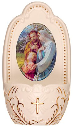Holy Family  Holy Water Font.