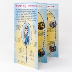 How to Say the Rosary Leaflet.