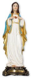 Immaculate Heart of Mary Statue.