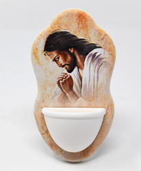 Jesus Holy Water Font.