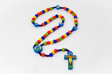 Kid's Angel Rosary Beads.