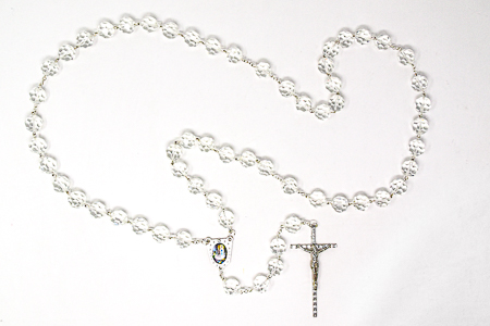 Glass Wall Rosary Beads.